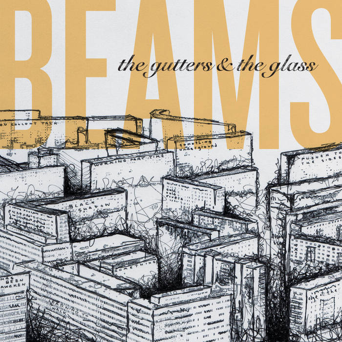 Beams - The Gutters & The Glass 7""